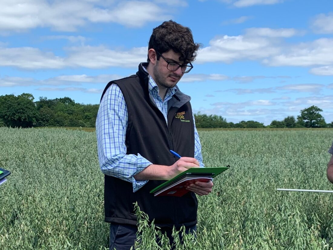Taylor Moore - Assistant variety rep at Cope Seeds & Grain