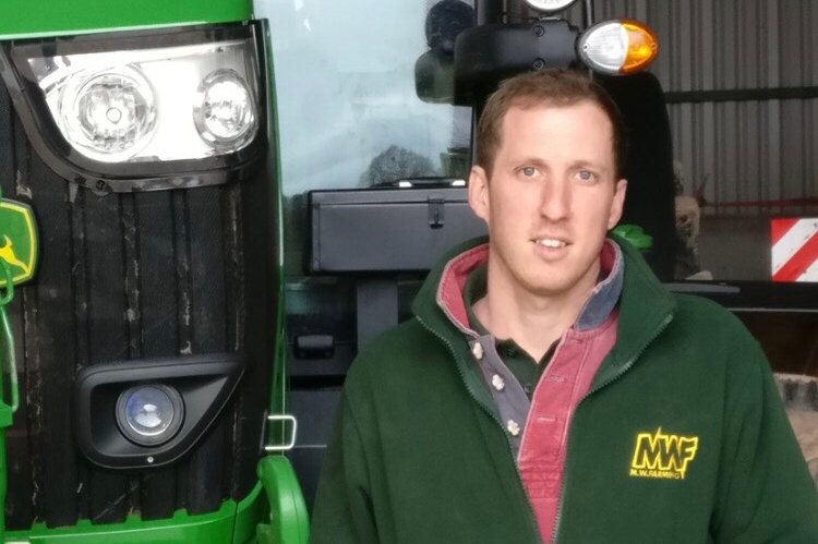 Matthew Williams Securo Cope Seeds Triticale farmer